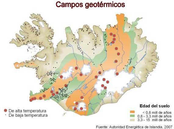 Campos geotérmicos