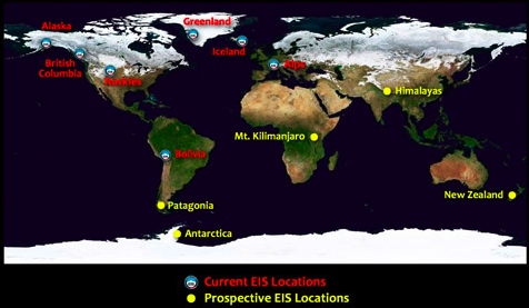 Extreme Ice Survey Glaciares En Time Lapse Geonopia Inspiración Terrestre