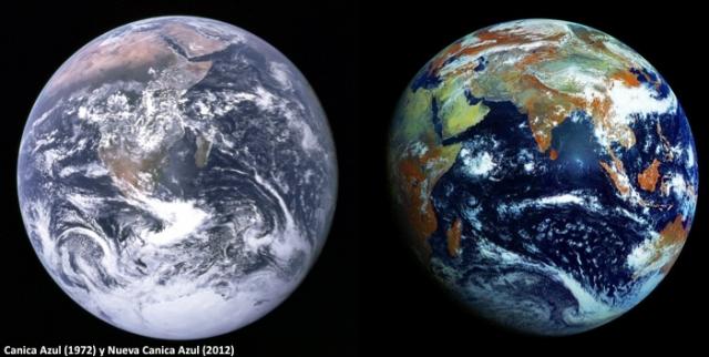 Comparación entre las dos imágenes. Fuente: Elaboración propia a partir de las imágenes anteriores.