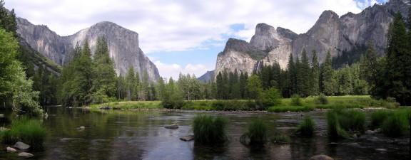 Vista del Valle de Yosemite. FUENTE: sangrefria.com