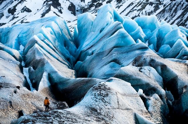 Glaciar Svínafellsjökull (Islandia). FUENTE: Foto James Balog, www.arstechnica.com